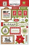 Echo Park Paper Company - This and That Christmas - This & That Christmas Layered Chipboard